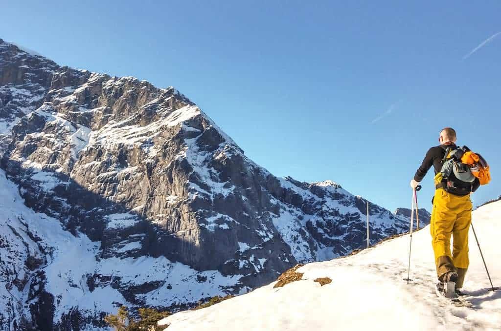 Schneeschuhtour Schneewandern Engelberg Fürenalp