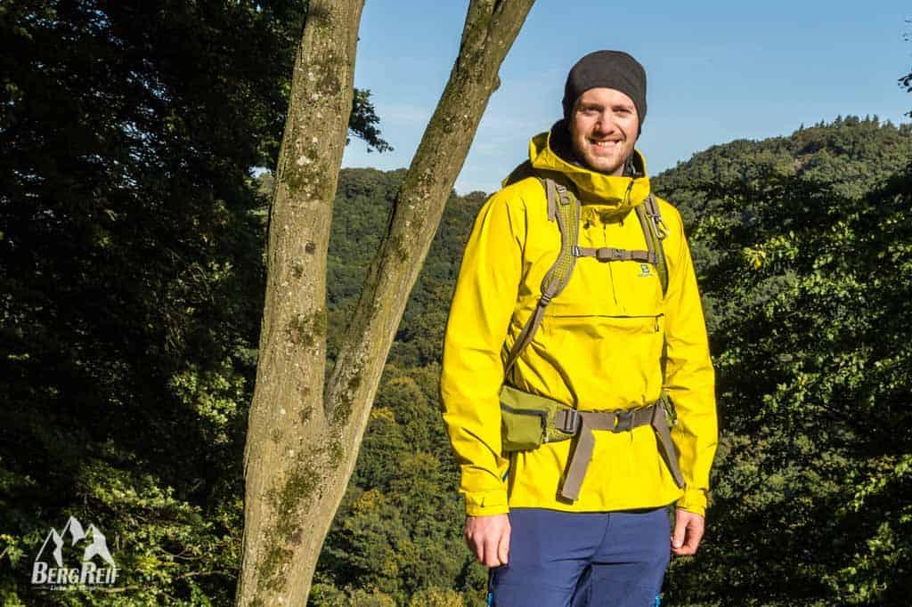 Hardshell Jacken Test Salomon S-Lab X-Alp Anorak Outdoor Blog BergReif