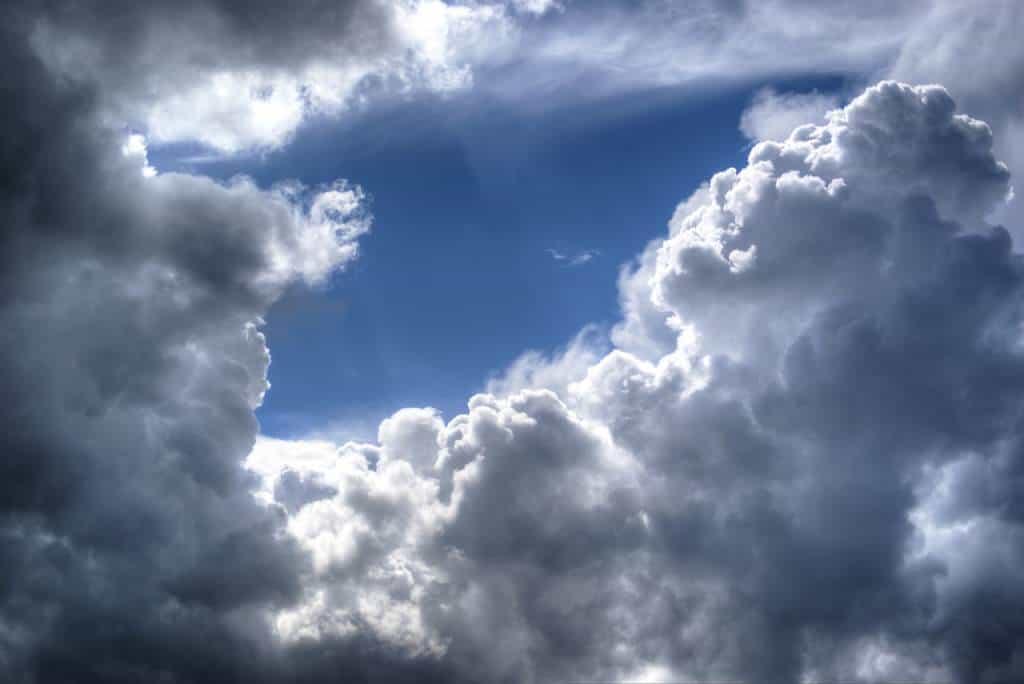 Wetterkunde schlechtes Wetter auf dem Stubaier Höhenweg