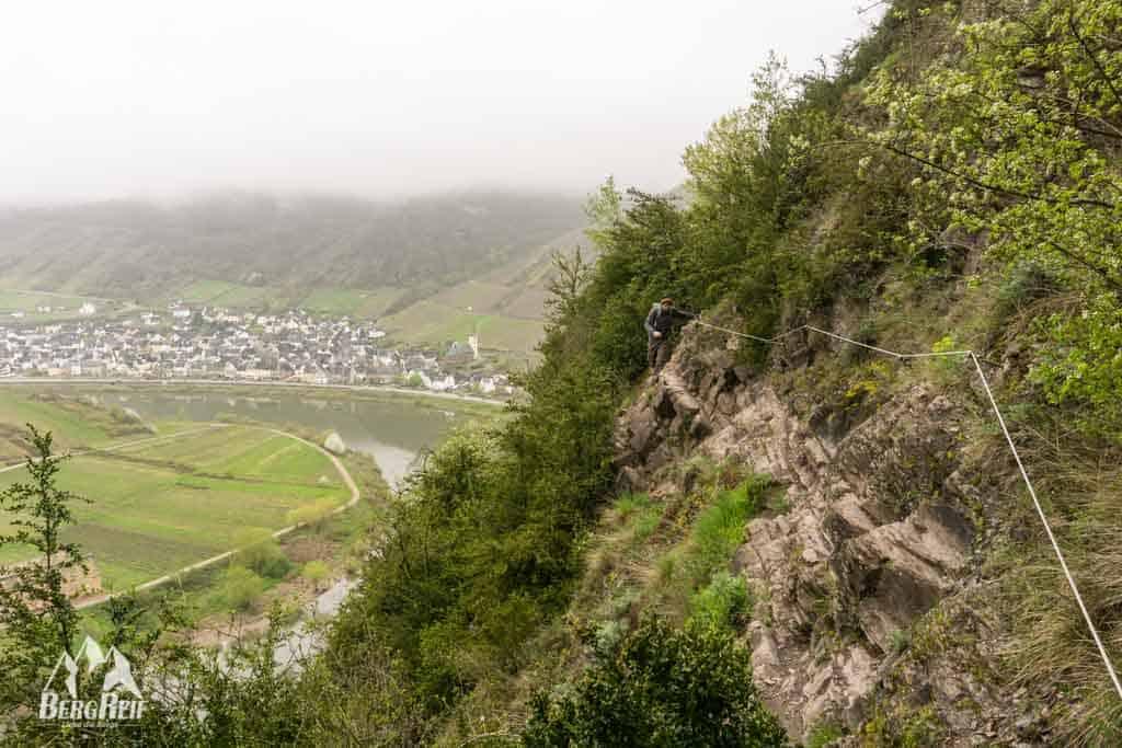 Calmont Klettersteig Bremm Mosel