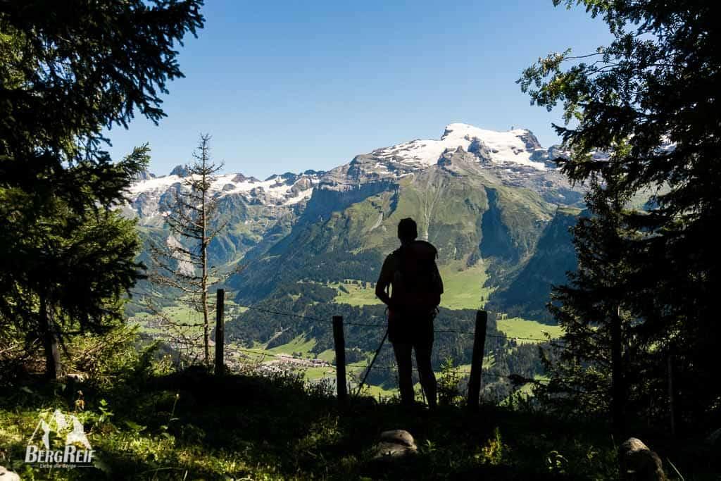 Engelberg wandern Lutersee Wanderung