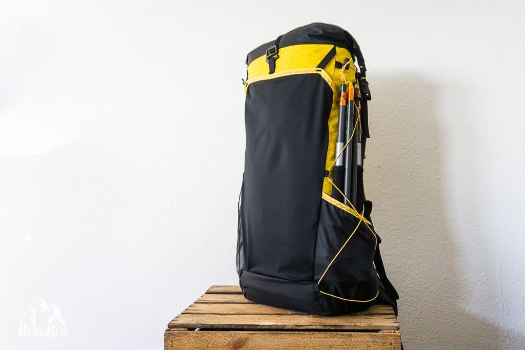 DIY Rucksack Alpenüberquerung zu Fuß
