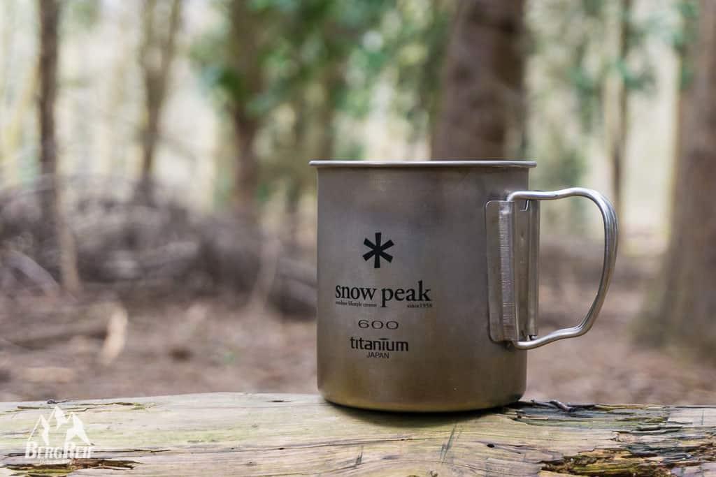 Snow Peak 600 Titan Tasse