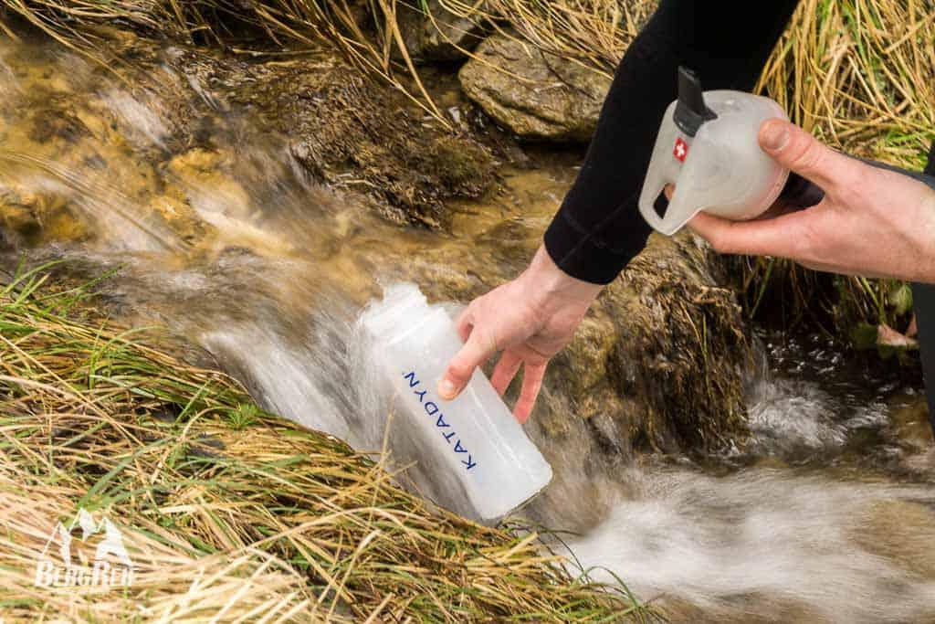 Wasseraufbereitung Gebirgsbach Bergsee