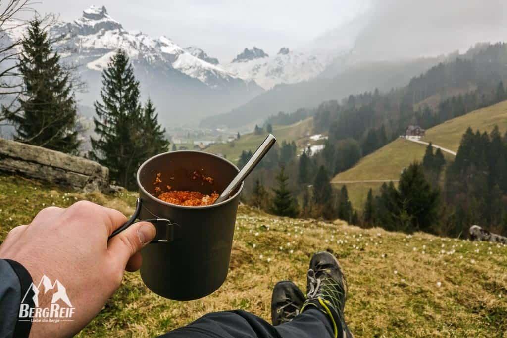 Outdoor Rezepte Trekkingnahrung