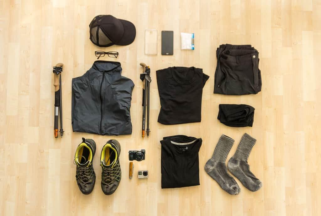 Ultraleicht Packliste Alpenüberquerung