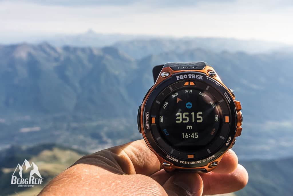 Casio Pro Trek Smart WSD F20 Test