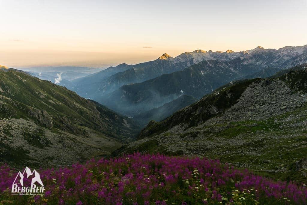 GTA Wandern Grande Traversata delle Alpi Rifugio Rivetti