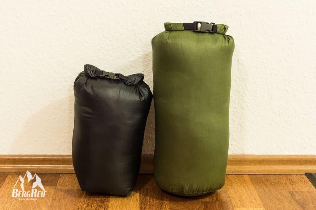 Packsack nähen DIY Drybag